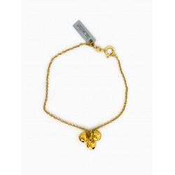 Bracelet clochette - or