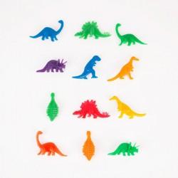 12 dinosaures fluos