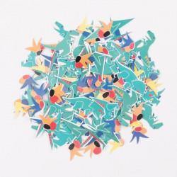 Confettis - dinosaure
