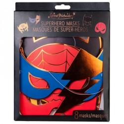 8 masques - Superhéros