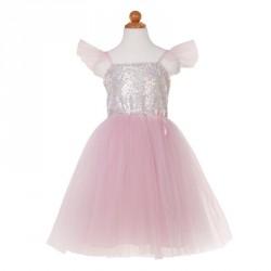 Robe de princesse à sequins 3-4 ans
