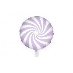 1 ballon mylar candy - lila