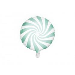 1 ballon mylar candy - Menthe