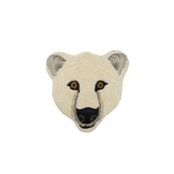 Tête à suspendre - Ours blanc