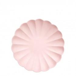 6 petites assiettes eco - Rose