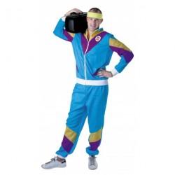 Jogging 80's - bleu