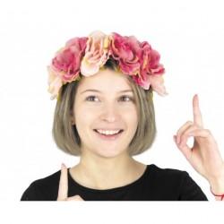 Serre tête à fleurs frida - vintage