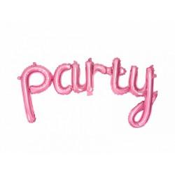 1 ballon Party rose