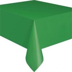 Nappe en plastique - vert