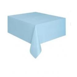 Nappe en plastique - bleu ciel