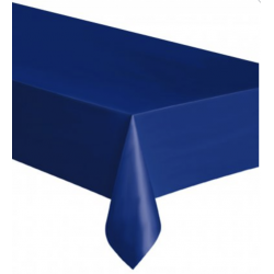 Nappe en plastique - bleu marine