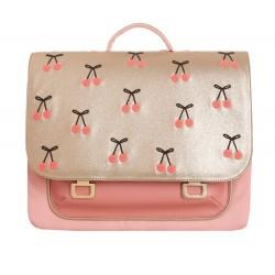 Cartable (it bag midi) - Cherry Pompon
