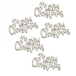 "Confettis ""Merry Christmas"" - bois"