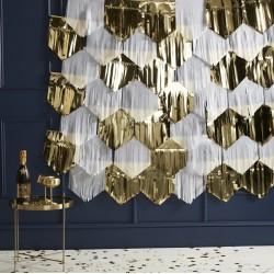 Kit décoration tassels - or et blanc