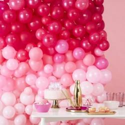 Kit mur de ballons - tie & die rose