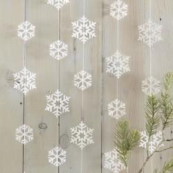 Guirlande - Flocons de neige
