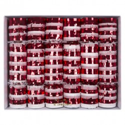 6 crackers candy cane
