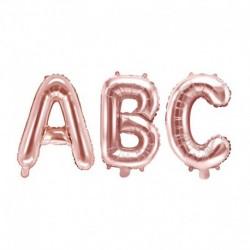 Petit ballon mylar lettre - Rosé