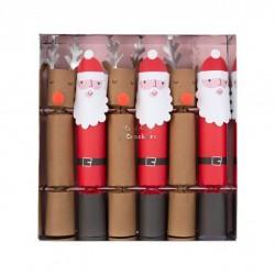 6 crackers Noel