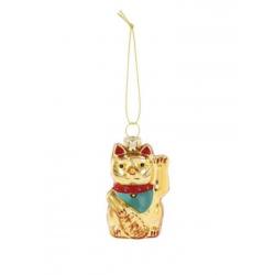 1 boule de Noël - Lucky cat