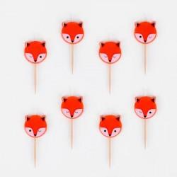 8 bougies - mini renard