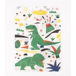10 pochettes-dinosaure