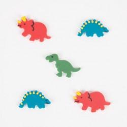 Décorations en pâte à sucre - dinosaure