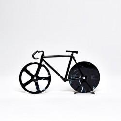 Coupe pizza - vélo marbre noir