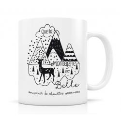 Mug - Que la montagne est belle