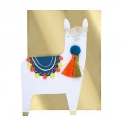 Carte lama meilleurs voeux