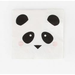 20 serviettes - mini panda