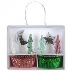 Kit cupcake festive tree