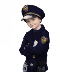 Déguisement - Policier (5 pièces)