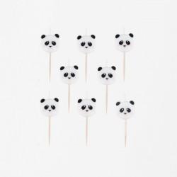 8 bougies - panda