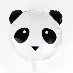 Ballon mylar - Tête de panda