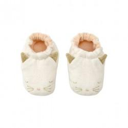 1 paire de chausson petit chat