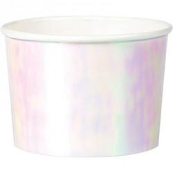 6 pots - iridescent