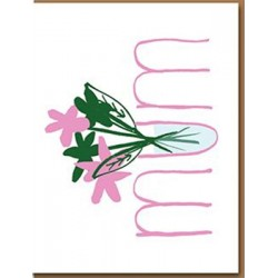 "Carte ""Mum"" - bouquet"