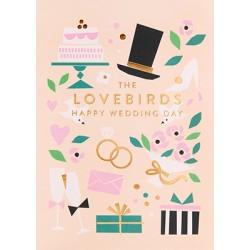"Carte ""happy wedding day"""