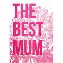 """Carte """"the best mum"""""""
