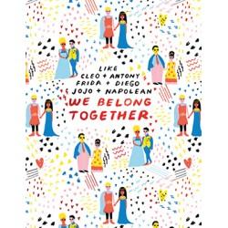 """Carte """"we belong together"""""""