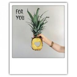 """Carte pola - """"For You"""" ananas"""
