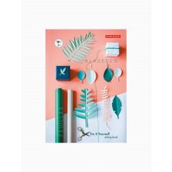 Livre kit DIY - feuilles vertes