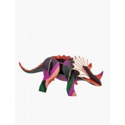 Décoration à poser 3D-Triceratops