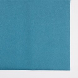 Nappe en papier bleu canard