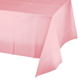 1 nappe plastique rose