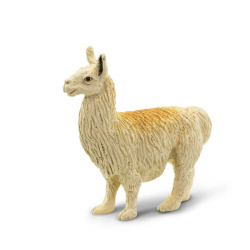 Mini figurine lama