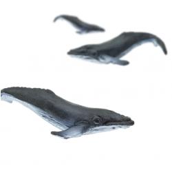 Mini figurine baleine à bosse