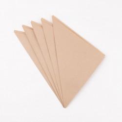 15 cornets en papier - kraft