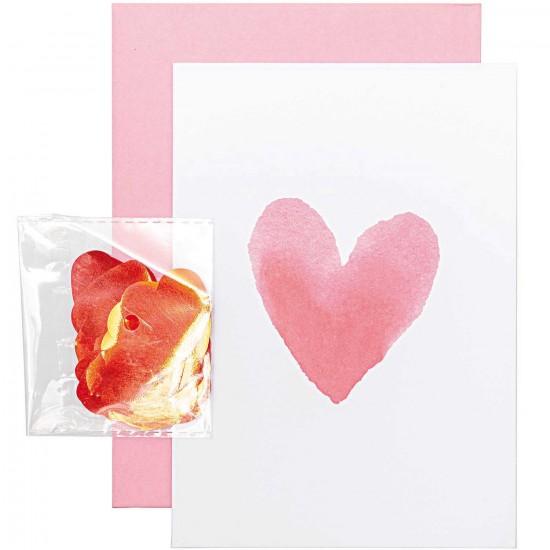 Carte DIY - Coeur